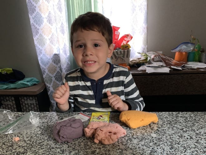 4-year-old Benjamin from Hazel Park was fatally mauled by a pit bull Oct. 29, 2019.