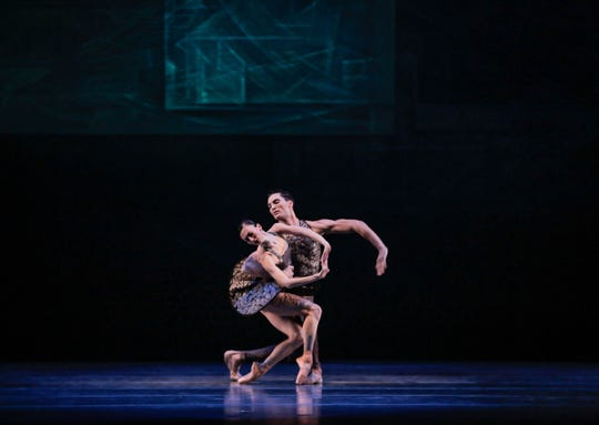 "The Joffrey Ballet will present ""Beyond the Shore"" by Nicolas Blanc this weekend at Michigan Opera Theatre."