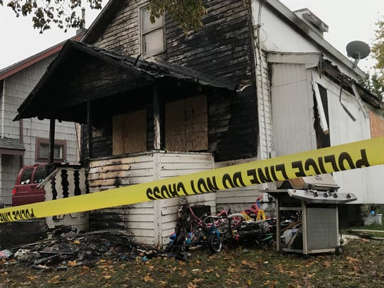 Three children were killed in a house fire in Lansing on Wednesday. The home was located on the 2000 block of New York.