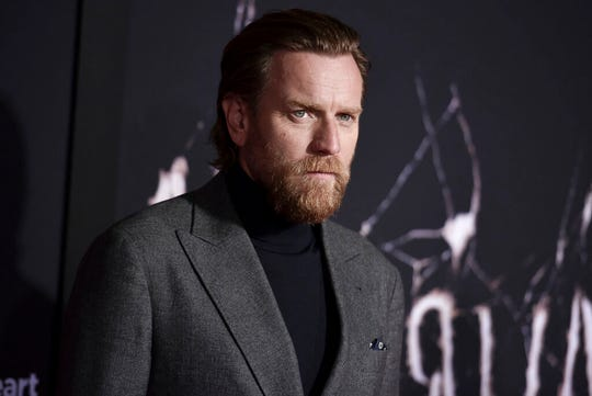 """Ewan McGregor attends the LA premiere of """"Doctor Sleep"""" at the Regency Theatre Westwood on Tuesday, Oct. 29, 2019, in Los Angeles."""