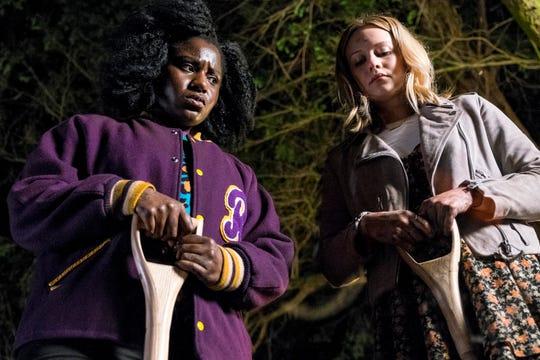 "Susan Wokoma and Cara Theobold in ""Crazyhead"" on Netflix. (Steffan Hill/Netflix)"