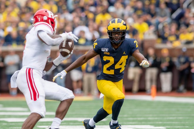 Michigan defensive back Lavert Hill