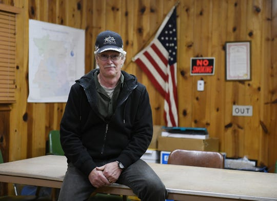 Wheatland Township supervisor David Stone is in favor of wind development in Wheatland Township. Photo taken at the Wheatland Township hall in Wheatland Township, Mich. on Oct. 29, 2019.