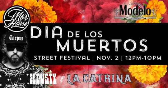 Dia de los Meurtos street festival is in Haynie's Corner Saturday from noon to 10 p.m.