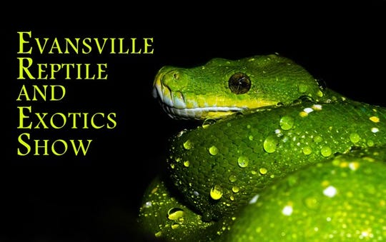 The Evansville Reptile and Exotics Show is Saturday at the Old National Events Plaza.