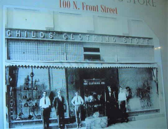 The Childs' Clothing Store was open in the early 1900s.