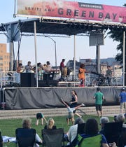 The Suffers perform in July at Leicht Memorial Park for the Levitt AMP Green Bay Music Series.