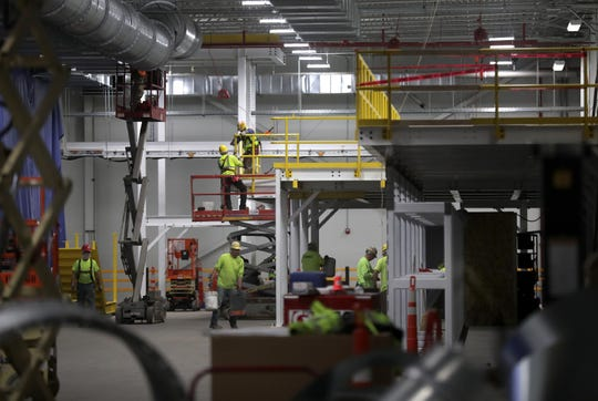 Kimberly-Clark Cold Spring Facility renovation and expansion project on Tuesday, October 29, 2019, in Fox Crossing, Wis. Wm. Glasheen/USA TODAY NETWORK-Wisconsin