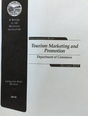 The state audit on tourism marketing and promotion.