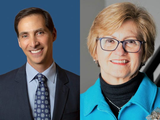 Democrat Miles Nelson and Republican Debra Minott are running for Carmel's West district.