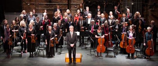 The Iowa City Community String Orchestra.