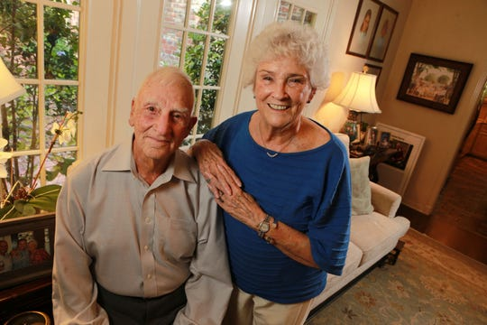 "Col. Carlyle ""Smitty"" Harris and his wife, Louise, will have been married 60 years on Dec. 5."