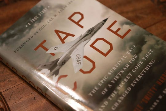 """Tap Code: The Epic Survival Tale of a Vietnam POW and the Secret Code That Changed Everything,"" written by Smitty Harris and Sara W. Berry, will be released by Zondervan on Nov. 5."