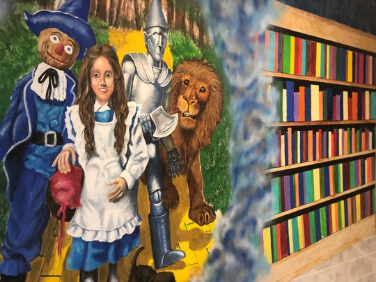 Art fills the walls of Carroll Academy, a day treatment facility for at-risk youth.