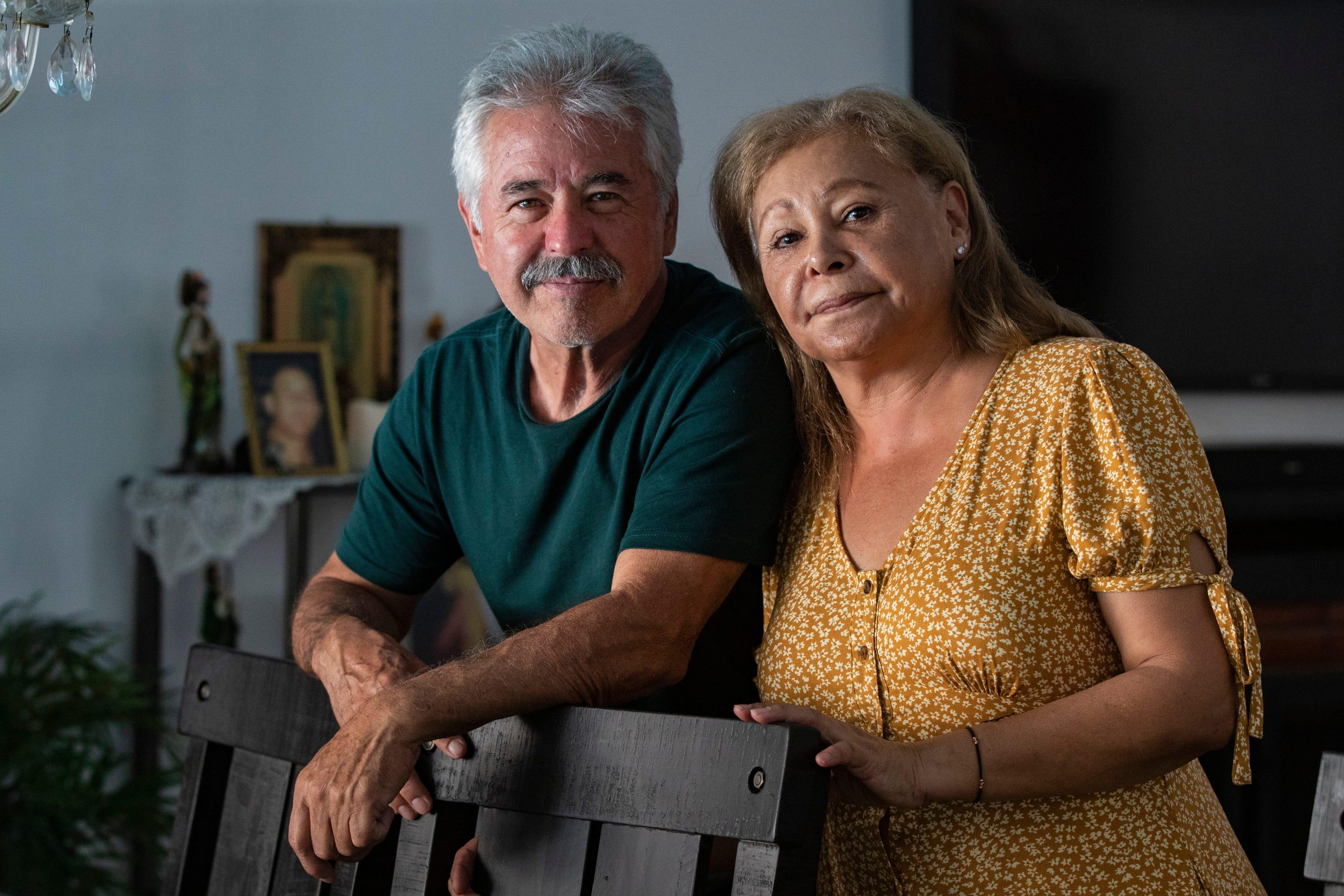 Roque Macias, 61, and Carmen Macias, 62, have not seen or heard from their son, Oscar Macias, since his short involvement with CJNG.