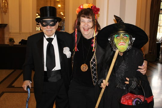 A Halloween costume contest was part of the festivities as the city of Louisville honored retired and senior volunteers for their service this week.