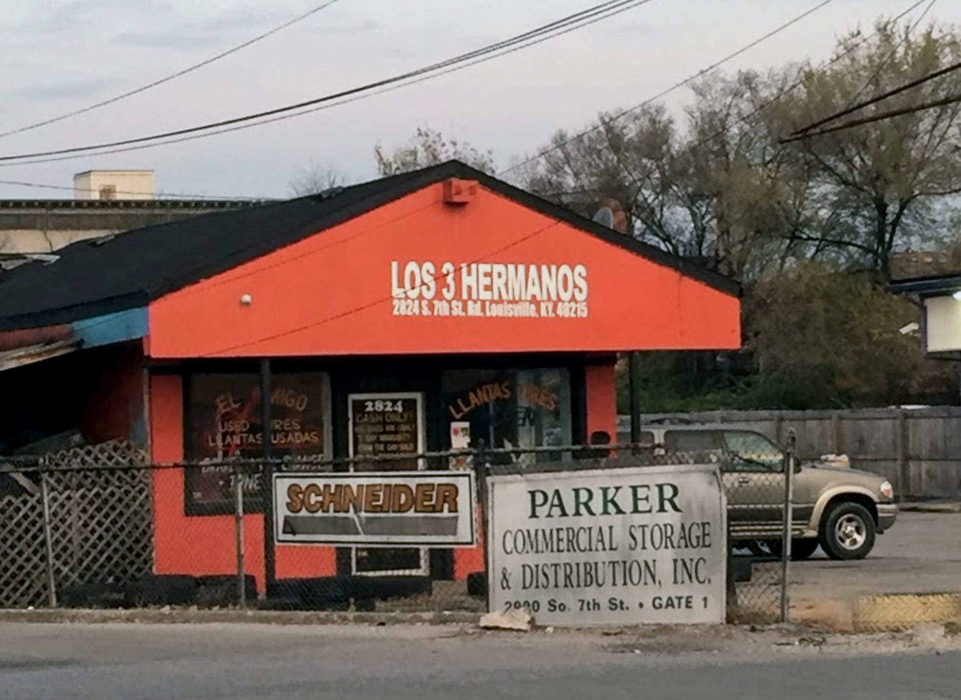 This Louisville, Kentucky, tire store, Los 3 Hermanos, rarely worked on a car. Secretly, it served as CJNG's Derby City drug hub.