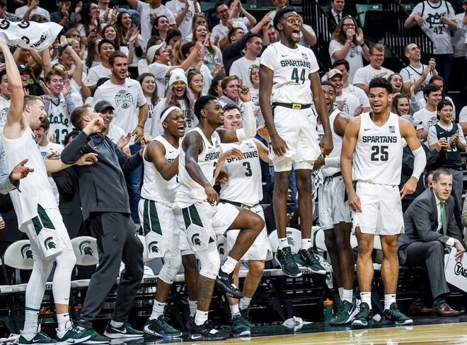 Michigan State's basketball team never got to see how high it could soar this season.