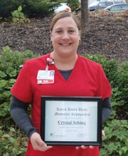 Crystal Selsing, a registered nurse at HFM Lakeshore Orthopaedics, is the 2019 recipient of the Karen Kvalo Deehr Memorial Scholarship.