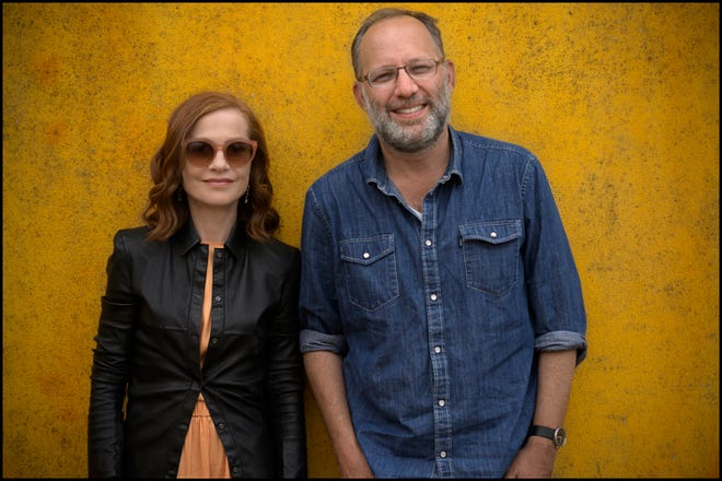 """Isabelle Huppert and Memphis-born Ira Sachs, star and director of """"Frankie."""""""