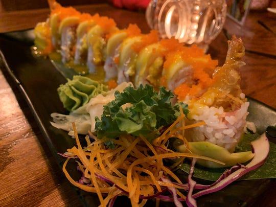 The Hawaiiian roll from Thai Thai Sushi Bowl, South Naples.