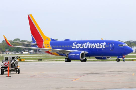 Southwest Airlines says it will end nonstop service between Milwaukee Mitchell and New York LaGuardia.