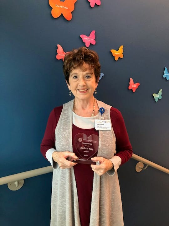 Charlotte Repp, Bereavement Coordinator at Hospice of the Ozarks, recently received the Hospice & Palliative Care Association of Arkansas Employee of the Year Award at the state hospice conference in Hot Springs. Reppoffers grief counseling to countless individuals on a daily basis and this award is most deserved.Repp holds Grief/Loss Services forthe community (not just to hospice patients families).Multiple groups on various dates in Mountain Home meet at the new Administrative Building, located at 811 Burnett Drive and in Bull Shoals on a weekly basis, along with one-on-one counseling. Contact Hospice of the Ozarks at (870) 508-1771 for more information.