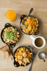 Breakfast skillets from Big Bad Breakfast