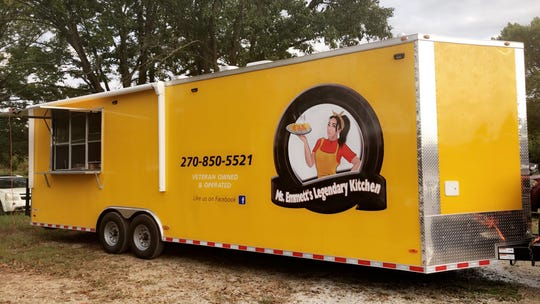 Emmett Carter is hitting the road in her third business, Ms. Emmett's Legendary Kitchen. The veteran-owned food trailer serves meat and three meals, including recipes passed down by Carter's late father.