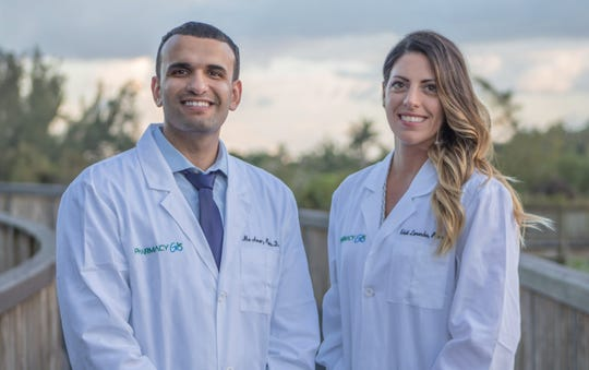 Organic-based PharmacyGO officially opened in Estero over the weekend. Pharmacists and local residents Mo Amer and Kristi Lamoncha are the owners of the independent apothecary that provides delivery and even pet meds.