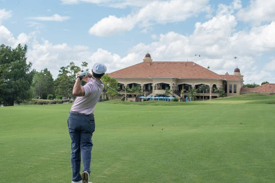 Look for a country club with flexible tee time, so you can play golf as much or as little as you'd like.