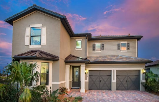 Eastfield is one of five model homes being presented by Pulte Homes in Avalon Park during the Tour of Homes at Ave Maria.