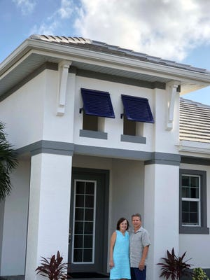 Randy and Lucy Sparrazza are one of a dozen couples who have purchased two homes in Naples Reserve.