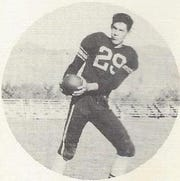 "Gustavo ""Gus"" Najera was on the 1950 Alamogordo High School Championship Football Team."