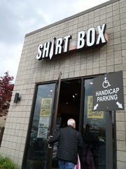 The Shirt Box men's dress shop at 32500 Northwestern Highway