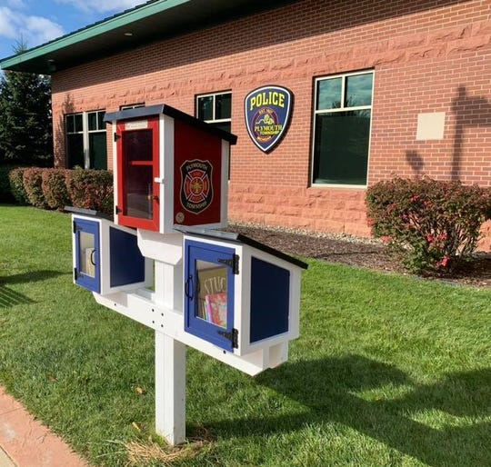 Plymouth Township has a new, unique Little Free Library