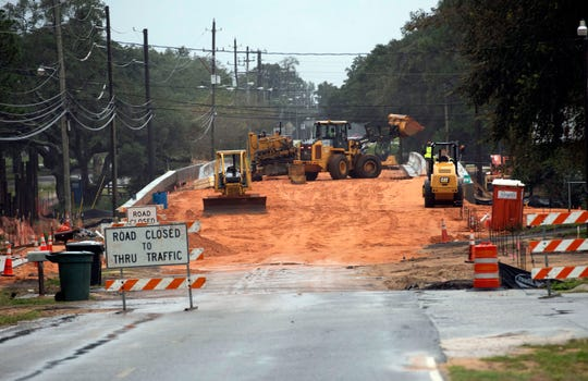Construction on Old Corry Field Road continues Oct. 30. The new bridge on the road is set to open later this week, but construction on the project still won't be complete until early 2020.