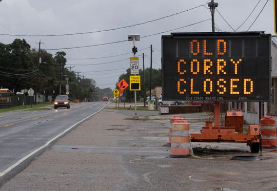 Road construction on Old Corry Field Road continues on Oct. 30, 2019.