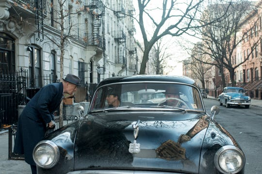 """""""Motherless Brooklyn"""" features Bruce Willis (from left), Edward Norton and Ethan Suplee."""