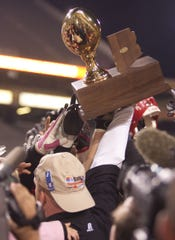The high school football state tournaments are coming up.