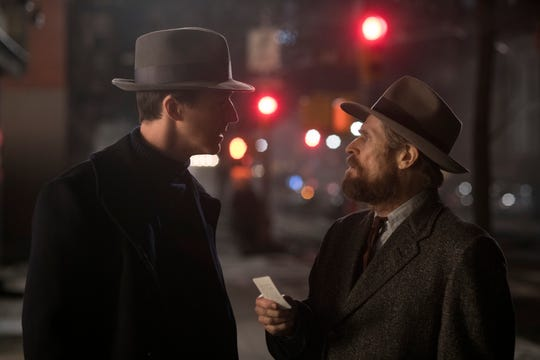"Edward Norton (left) and Willem Dafoe star in ""Motherless Brooklyn."""