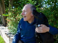 "Clive Wynne, director of the Canine Science Collaboratory at ASU and author of ""Dog is Love,"" scientifically determined that dogs love their owners. Wynne's dog Xephos inspired the book. Oct. 29, 2019."