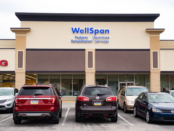 WellSpan Pediatric Rehabilitation recently relocated to a new, bigger building in the Queensgate Shopping Center. Take a look.