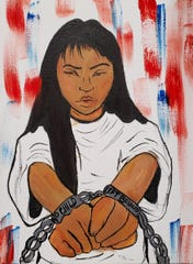 Latinos Unidos Siempre held a graffiti art exhibition in November that reflected their work to combat systemic discrimination, social issues impacting people of color and youth.