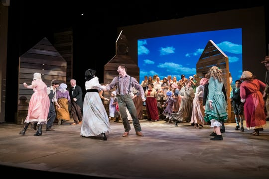 """Little House on the Prairie: The Musical"" is the latest production of Springfield Little Theatre."