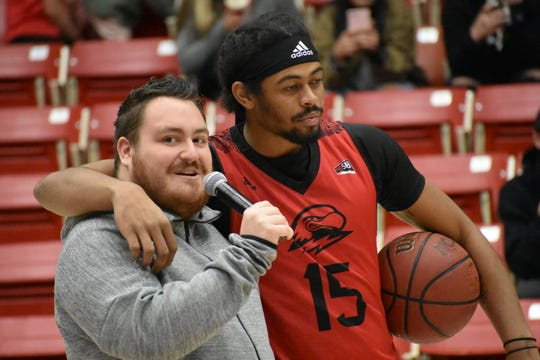 SUU's Basketball Bash officially kicked off the basketball seasons,