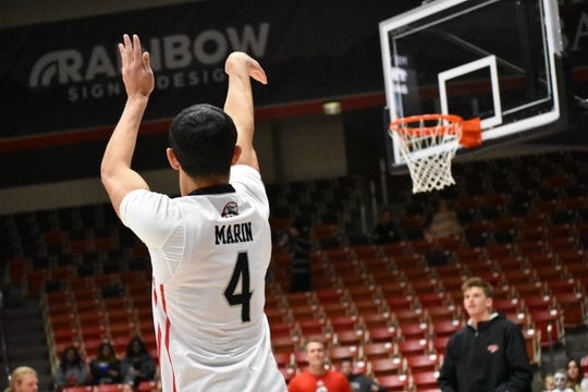 Dre Marin is one of SUU's best home-grown players on the roster. The program is hoping Braden Housley will follow those footsteps.
