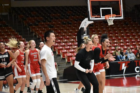 SUU's Basketball Bash officially kicked off the basketball seasons,