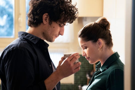 "Louis Garrel, Laetitia Casta in ""A Faithful Man."""