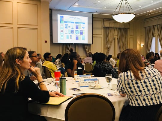 Roughly 135 attendees registered for Wednesday's summit on economic security affecting local women. The event was hosted by the Tallahassee-Leon County Commission on the Status of Women and Girls.
